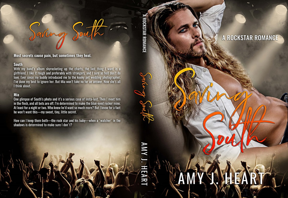 Rockstar Romance Saving South Amy J Heart